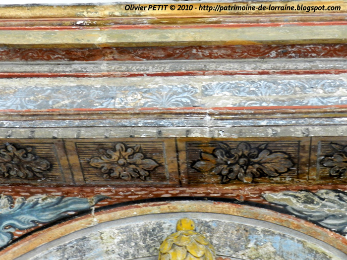 AUTREVILLE (88) - L'église paroissiale Saint-Brice (Intérieur)