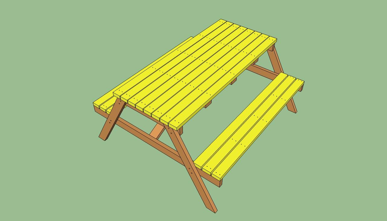 Picnic Table Plans: Picnic Table Plans
