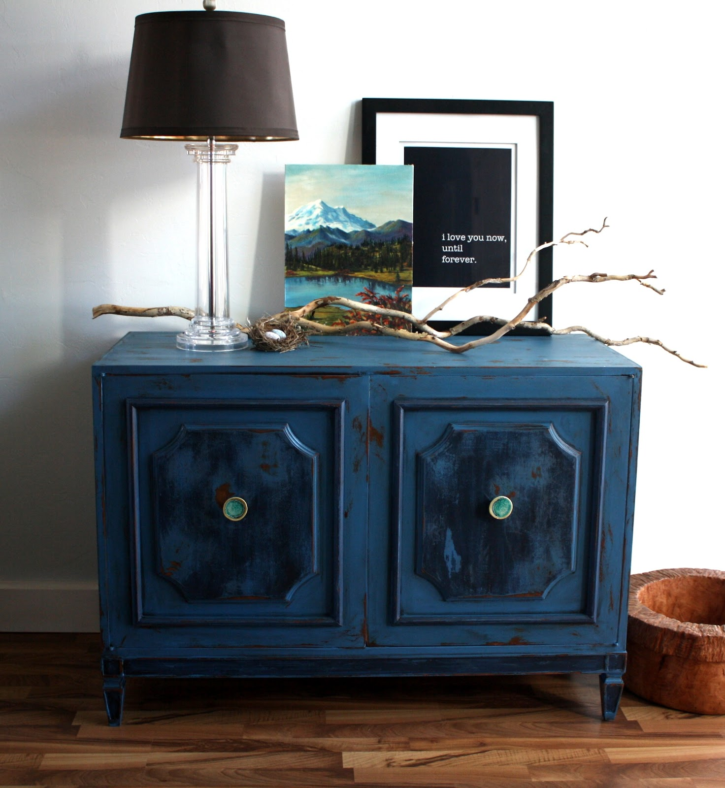 The Turquoise Iris Furniture Art Getting The Best Of Blue