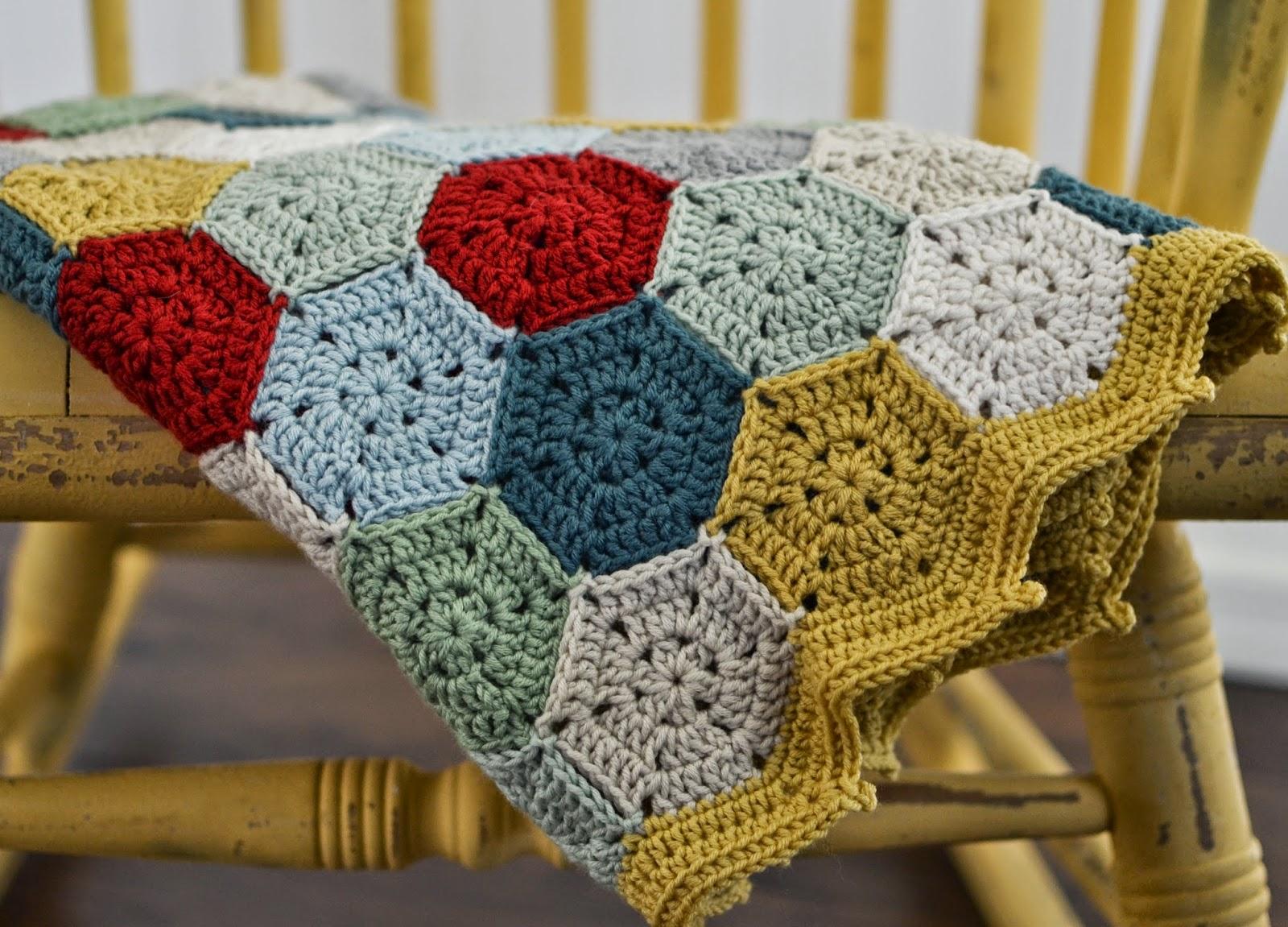 Midgemowgli crochet hexagon blanket for baby boy crochet hexagon blanket for baby boy bankloansurffo Image collections