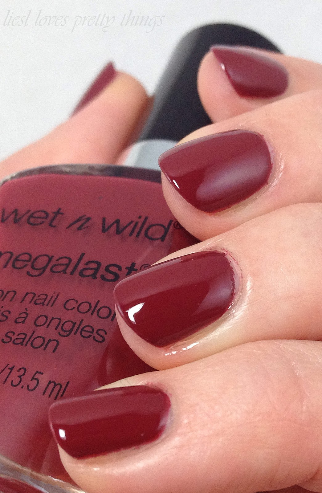 Pantone Color of the Year 2015 Marsala WetnWild Haze of Love
