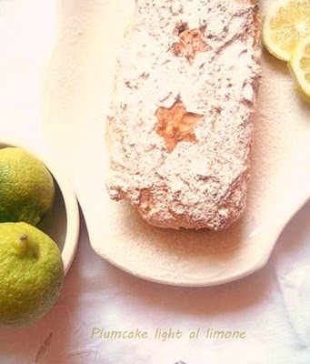 Plumcake light al limone
