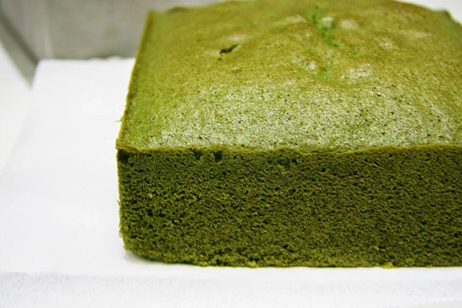 Japanese Green Tea Sponge Cake Recipe