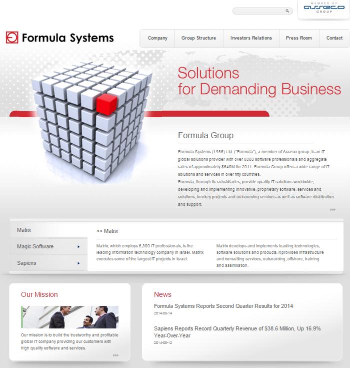 formula systems