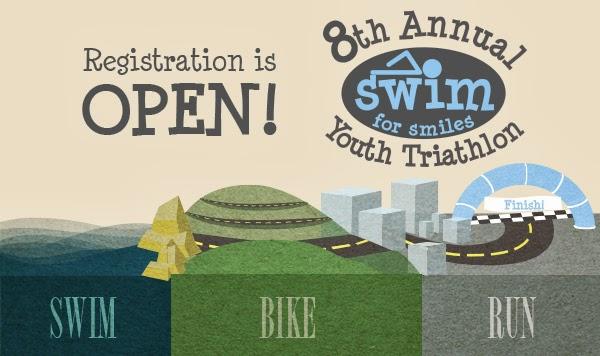 "Registration Open for ""Swim For Smiles"" Youth Triathlon in Briar Chapel"