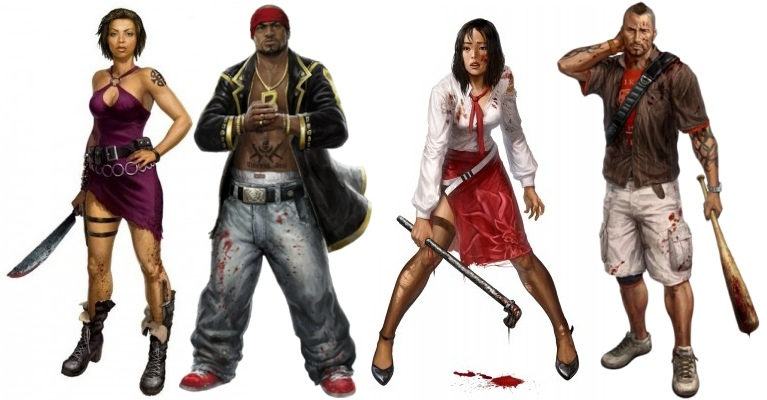 Dead Island Playable Characters