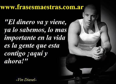 frases de Vin Diesel