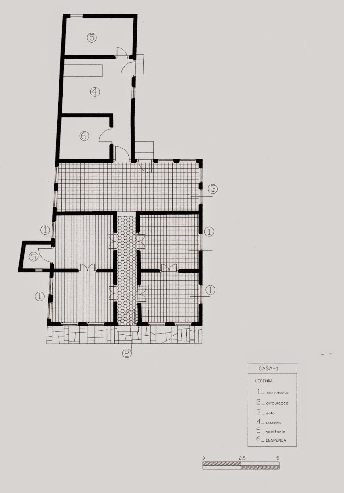 casa abalcoada: arquitetura em Goiás II #6F655C 1116x1600 Banheiro Adaptado Dimensões