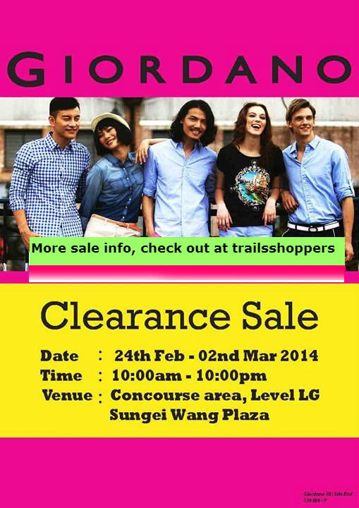 Giordani Clearance Sale Sungei Wang Plaza Mall Kuala Lumpur