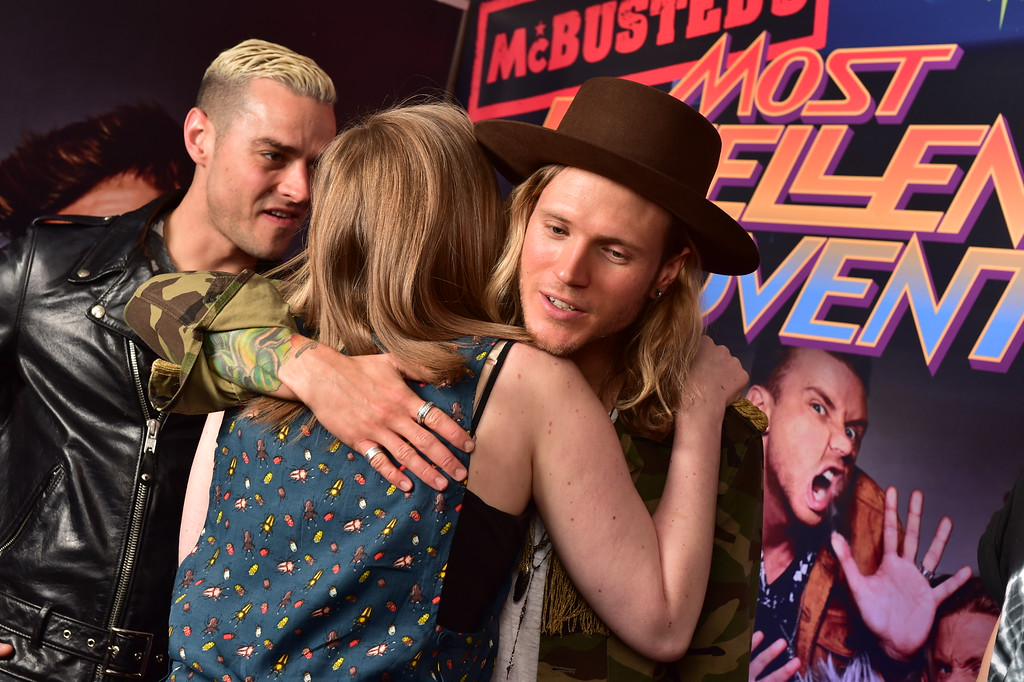 McBusted Meet and Greet Newcastle Dougie Poynter