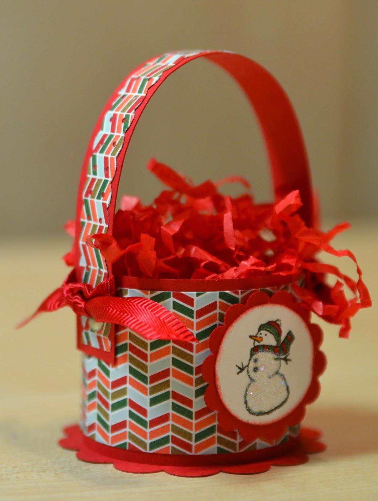 Atelier Meruru Handmade Basket : Janb handmade cards atelier christmas basket