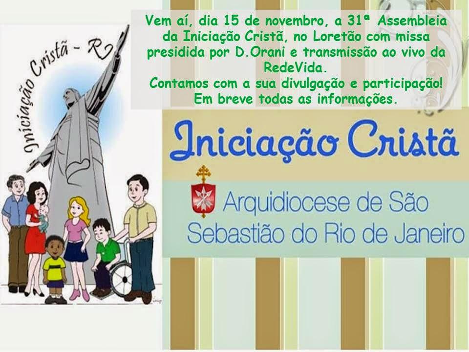 31ª Assembleia da Iniciação Cristã