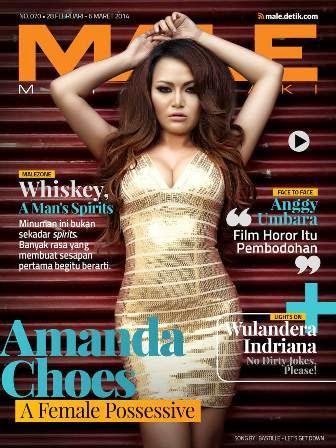 Majalah MALE Mata Lelaki 070 Amanda Choes - A Female Possessive