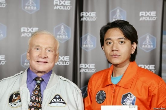 Astronot Indonesia Siap Meluncur ke Antariksa bersama AXE Apollo