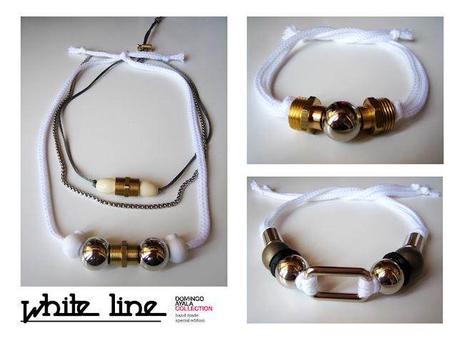WHITE LINE Domingo Ayala Handmade