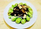 Green Vegetable with Mushroom