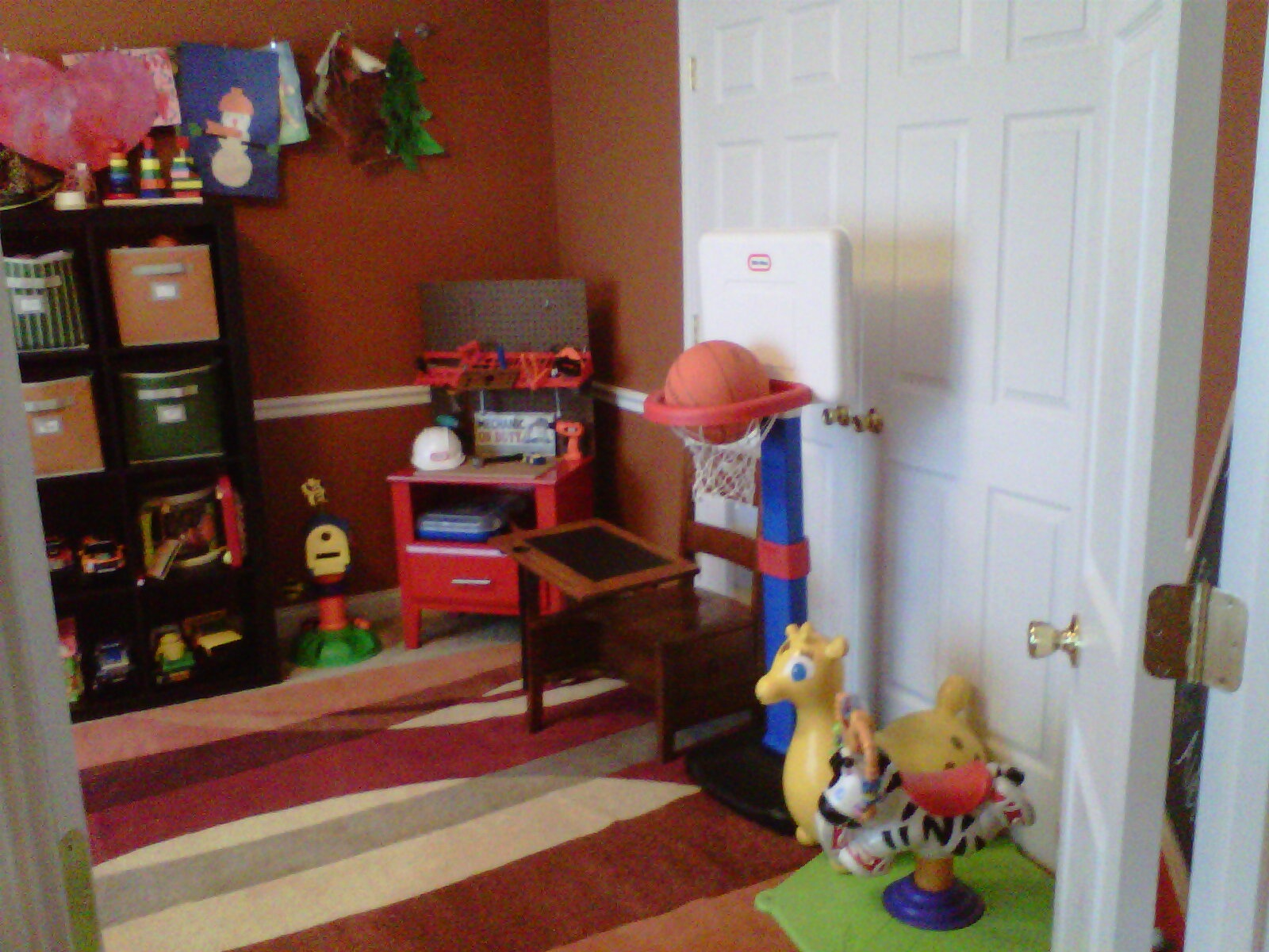 MelooLaLa Dining Room Turned Playroom