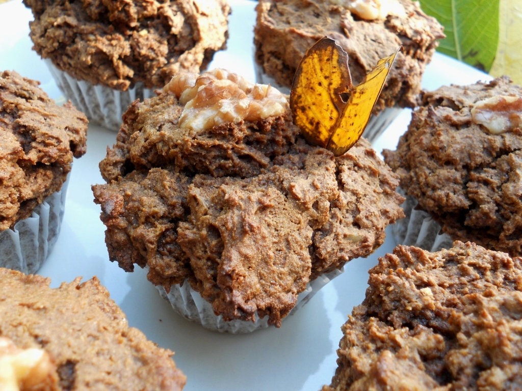 Snacking Squirrel: Sweet Potato and Cinnamon Muffins