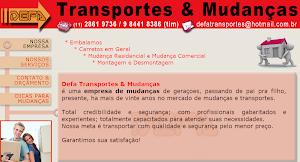 """""""DEFA-Transportes e Mudanças"""""""