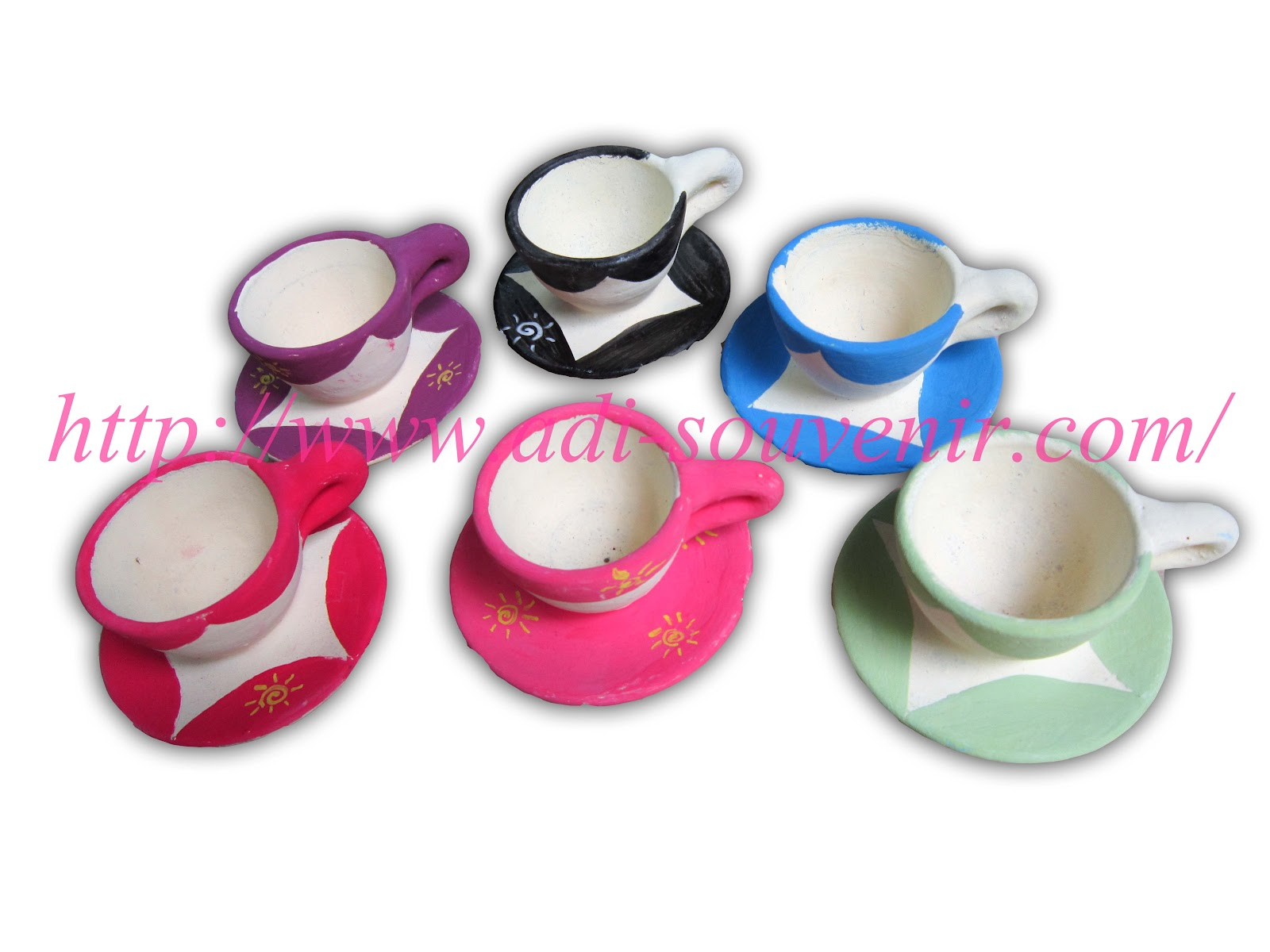 Keramik Gelas Motif Gambar Custom KG 4 | Adi - Souvenir