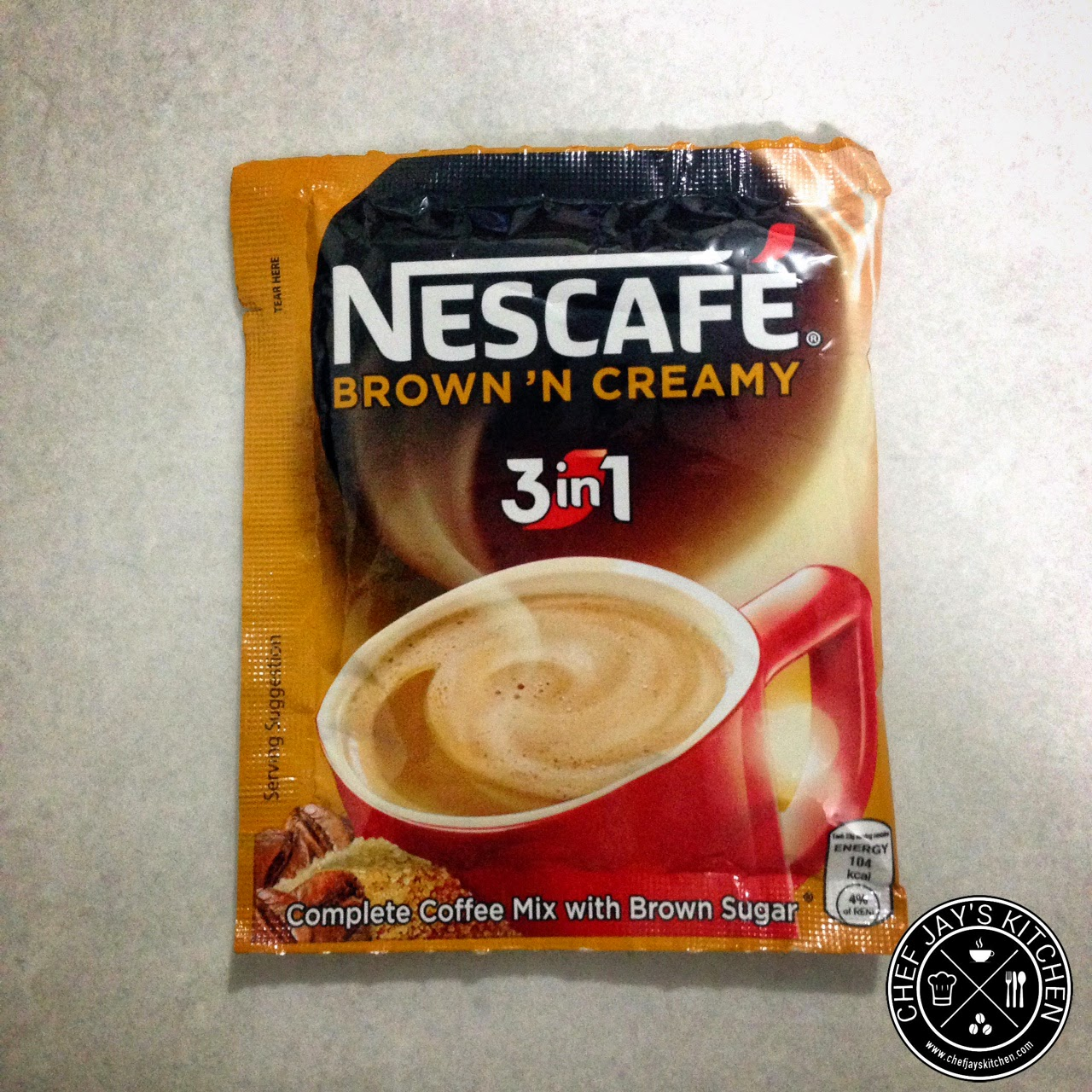 Brown Coffee Brands in the Philippines Review - Nescafe Brown 'N Creamy