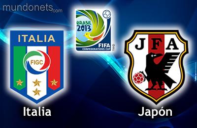 COPA CONFEDERACIONES 2013 ITALIA vs. JAPÓN