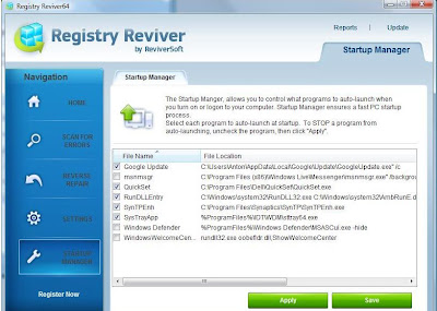 REGISTRY REVIVER GRATIS IN ITALIANO