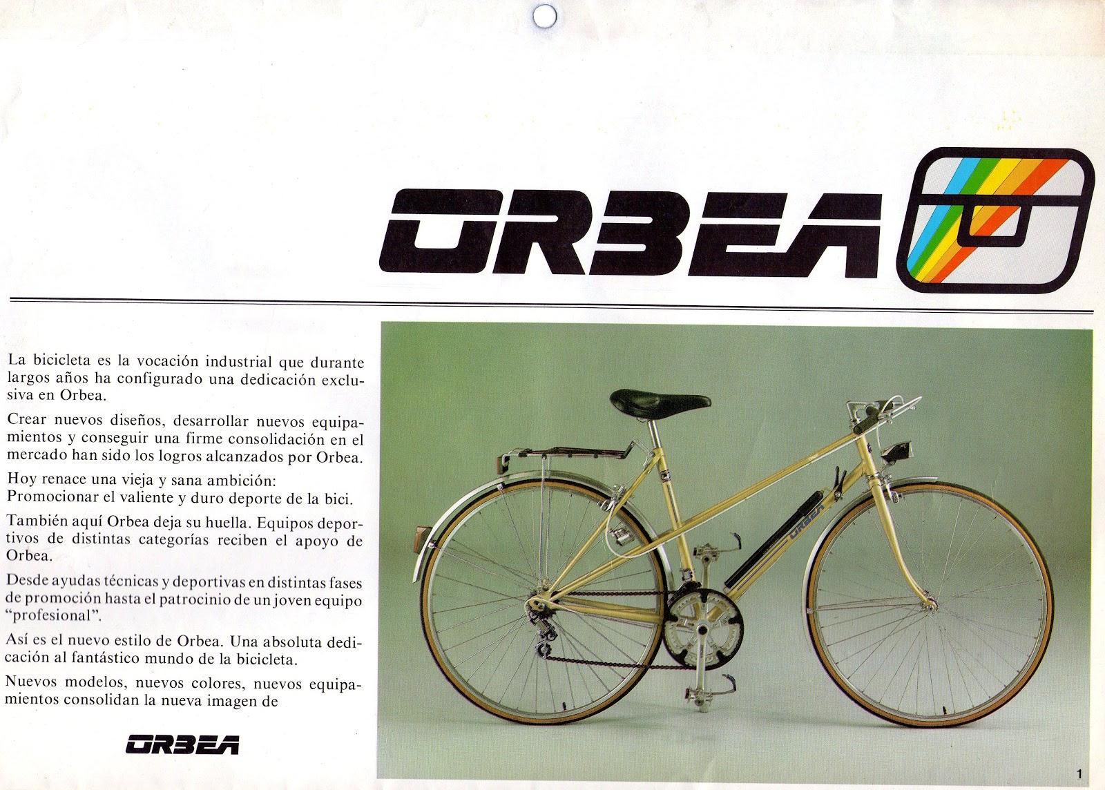 Cat logo de Orbea Toda la gama de bicicletas Orbea para la temporada