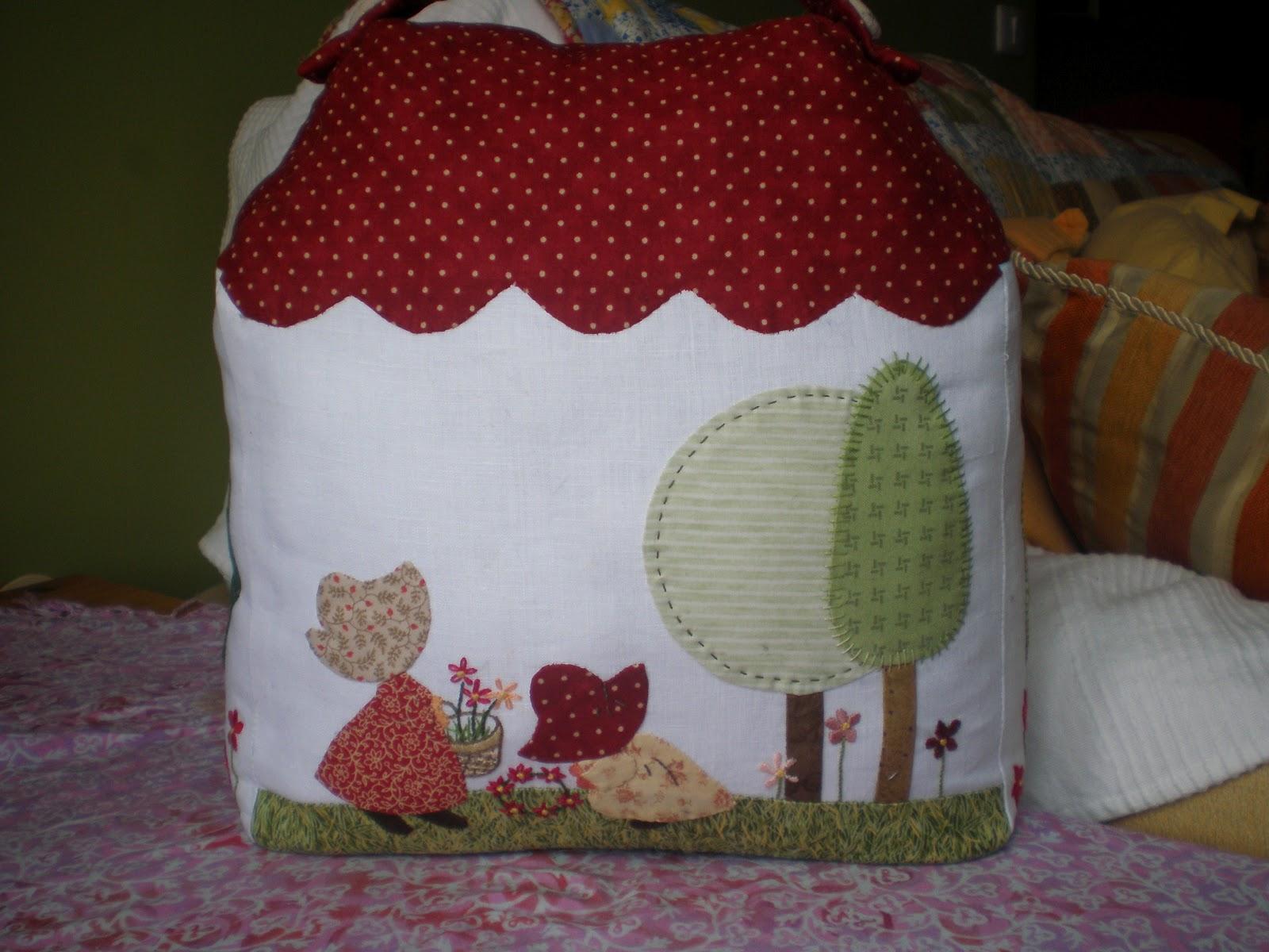 Minerva patchwork casa sujeta puertas - Casas de patchwork ...