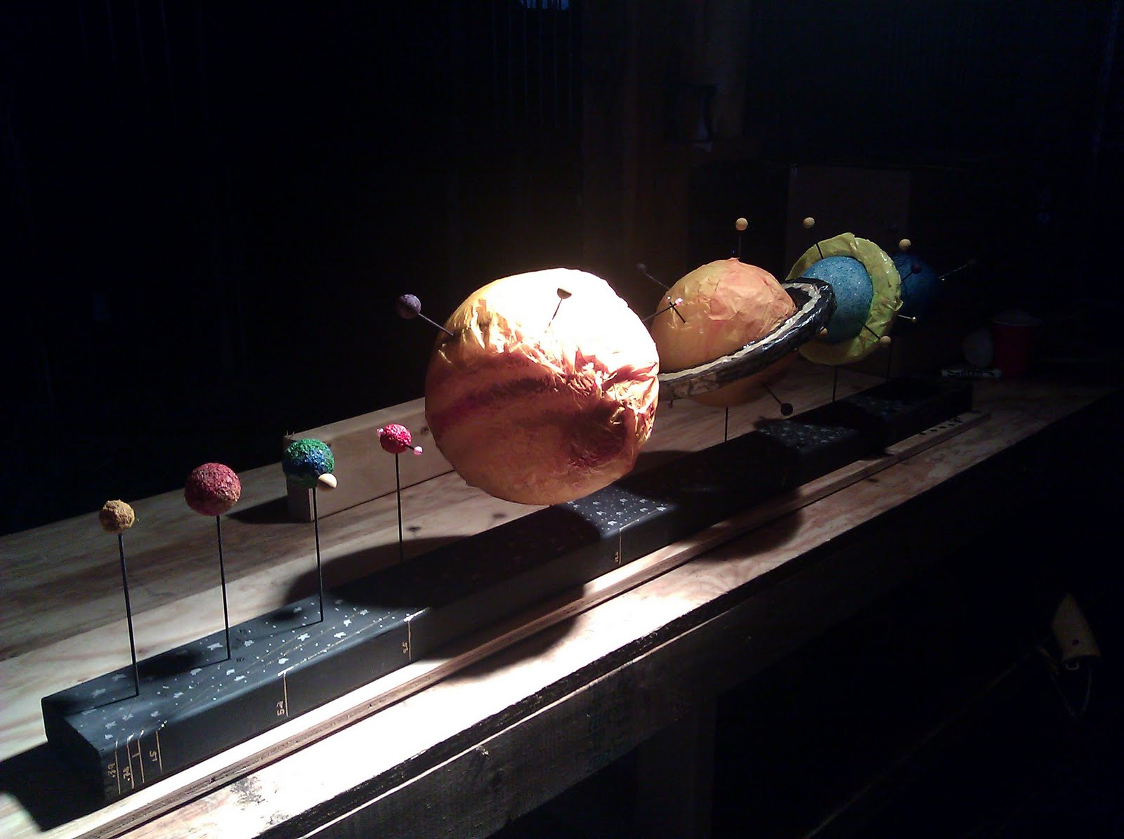 3d solar system model school project - photo #20