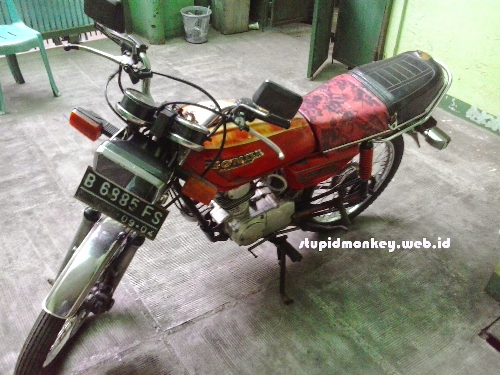 motor honda gl series 125