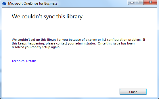 SharePoint Connoisseur: Tips to resolve OneDrive for Business sync ...