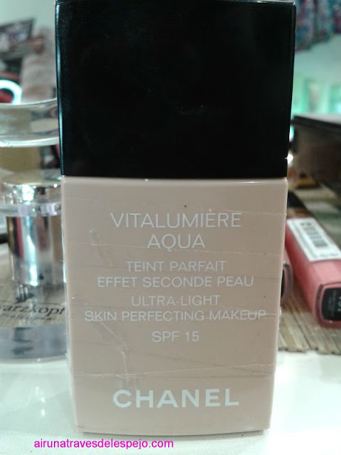vitalumiere aqua maquillaje chanel