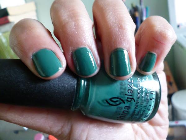Verde en el Invierno: Esmalte de la Semana # 4