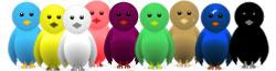 membuat burung twitter terbang di blog, burung twitter terbang, burung twitter