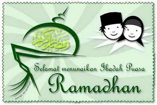 Ucapan Selamat Ramadhan 1433H SMS puasa 2012