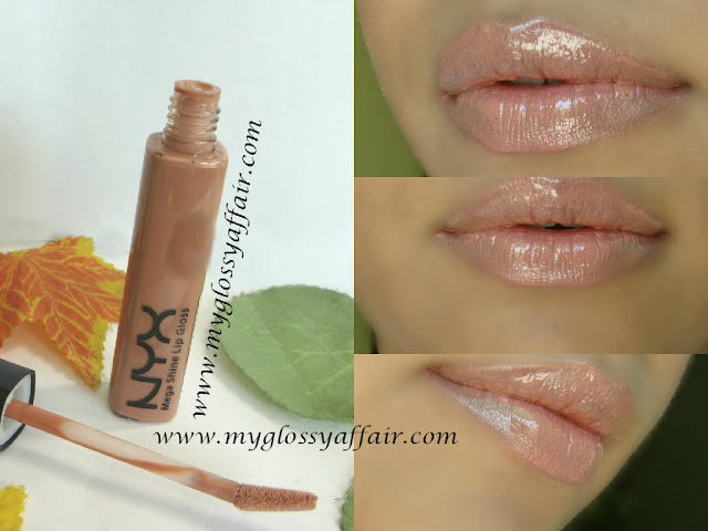 NYX Mega Shine Lip Gloss in Natural