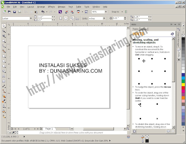 Download Corel Draw X6 Full Keygen