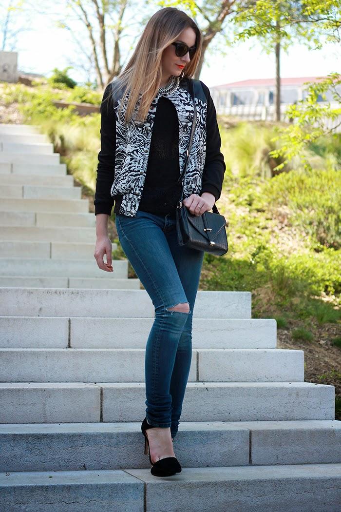 jeans troué blog mode