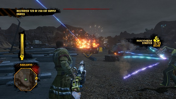 red faction guerrilla matchmaking Red faction: guerrilla (ps3) cheats red faction: guerrilla cheats, passwords, trophys, unlockables, and codes for ps3  all challenges can be completed in matchmaking, custom matches, or a .
