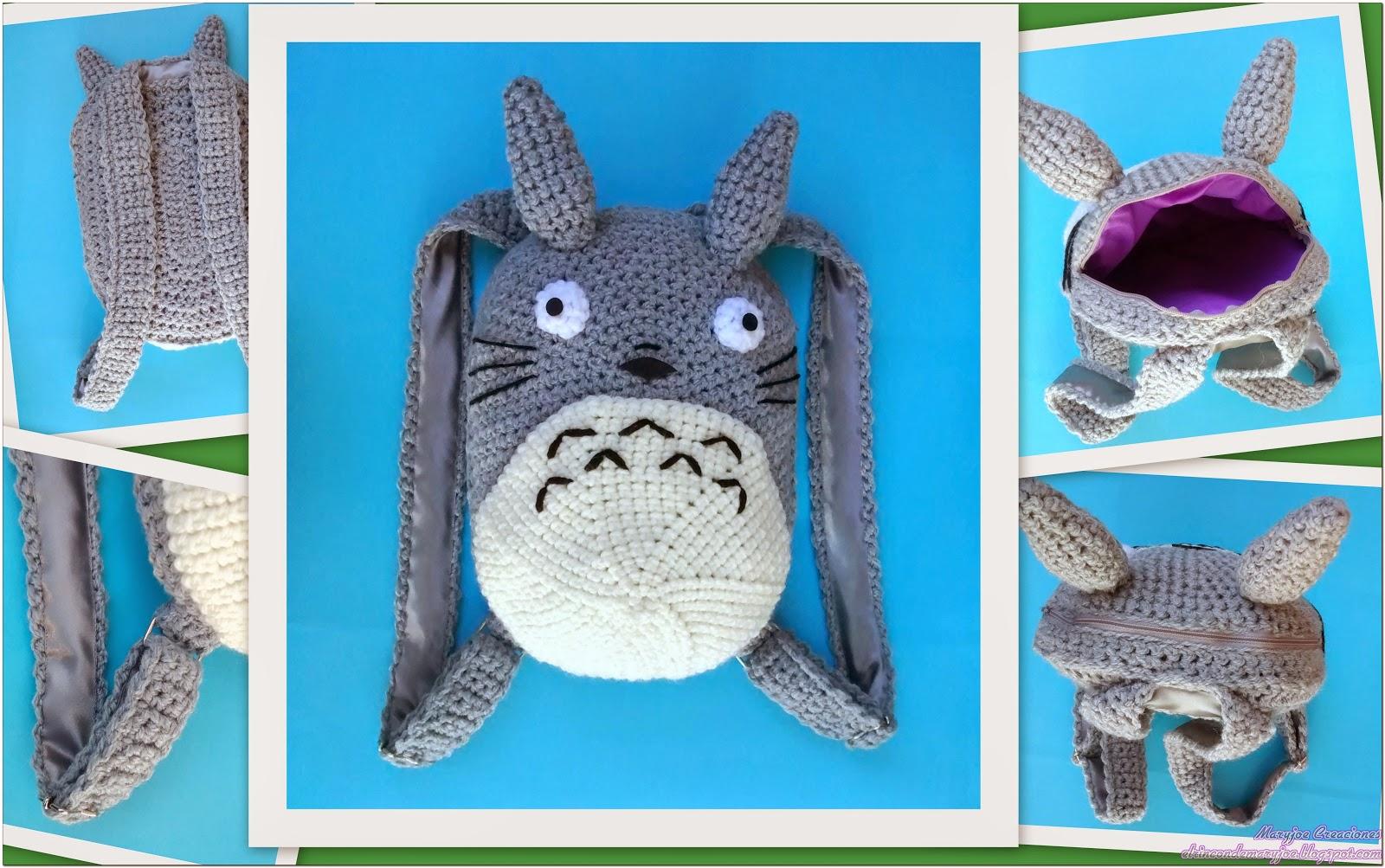 El Rincón de Maryjoe: Mochila Totoro