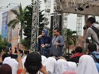 Anang – Ashanty Hebohkan Warga di Pembukaan Musywil Muhammadiyah