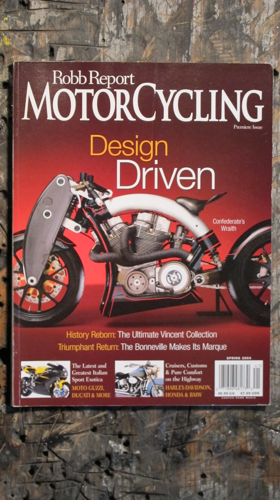 Robb Report Motorcycling Confederate Wraith
