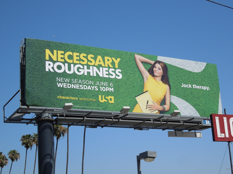 Necessary Roughness season 2 billboard