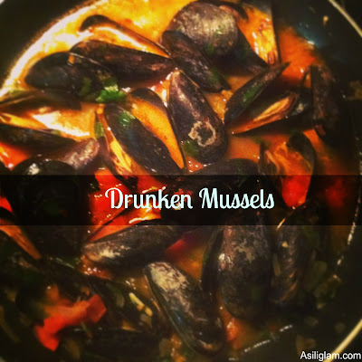 Cooking Corner: Drunken Mussels