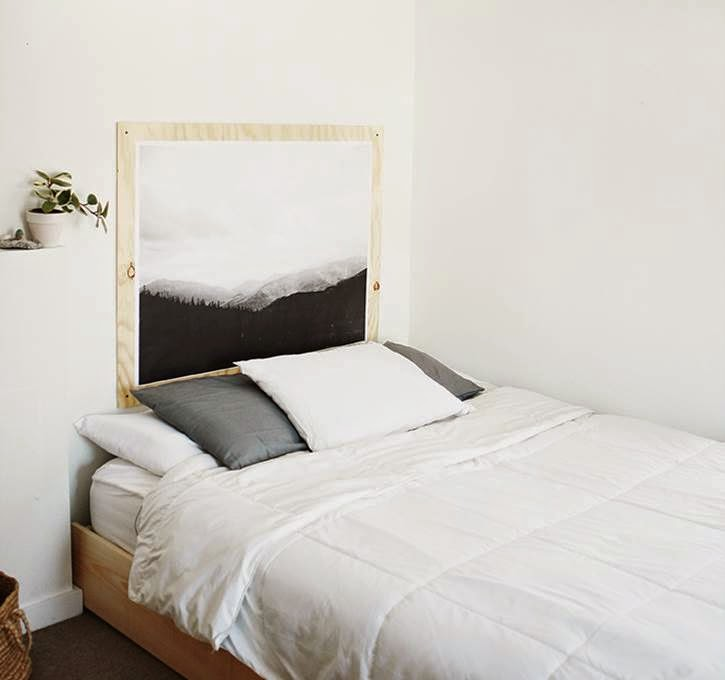 8 cabeceros low cost decoraci n - Cabecero estilo escandinavo ...