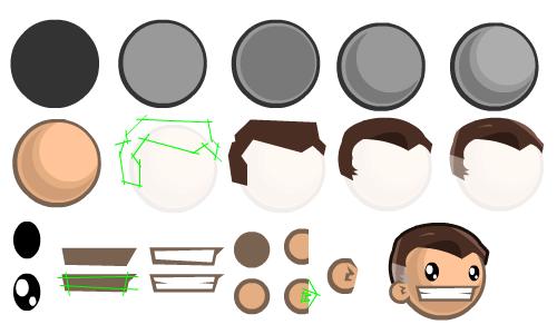 2d Game Character Design Tutorial : D game art tutorials character design side view