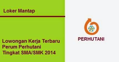 Lowongan Kerja Terbaru Perum Perhutani Tingkat SMA/SMK 2014
