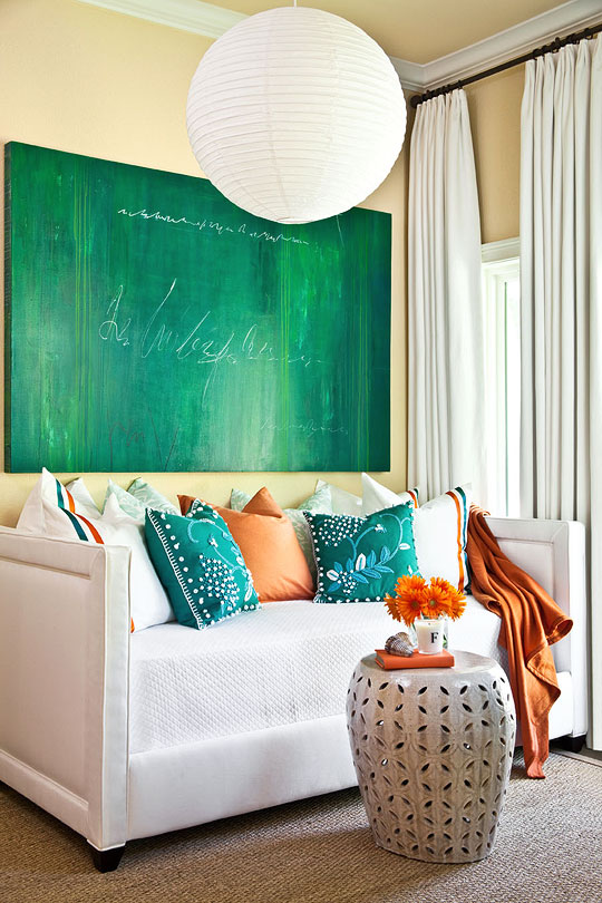 Cottage Modern An Accidental Favorite Turquoise Orange