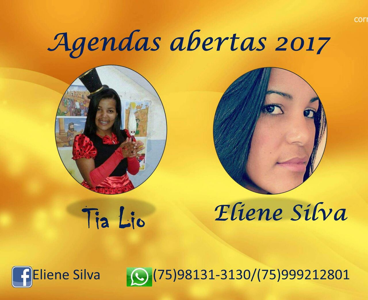 Tia Lio e Ministério Eliene Silva